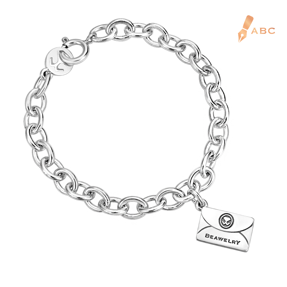 curb silver sterling identity mens id personalised personalisedengraved bracelet chamfered hallmarked engraved