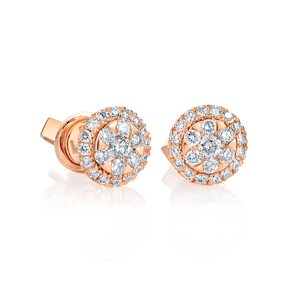 end pm circle earrings sale diamond hollow htm amierq i jewellery