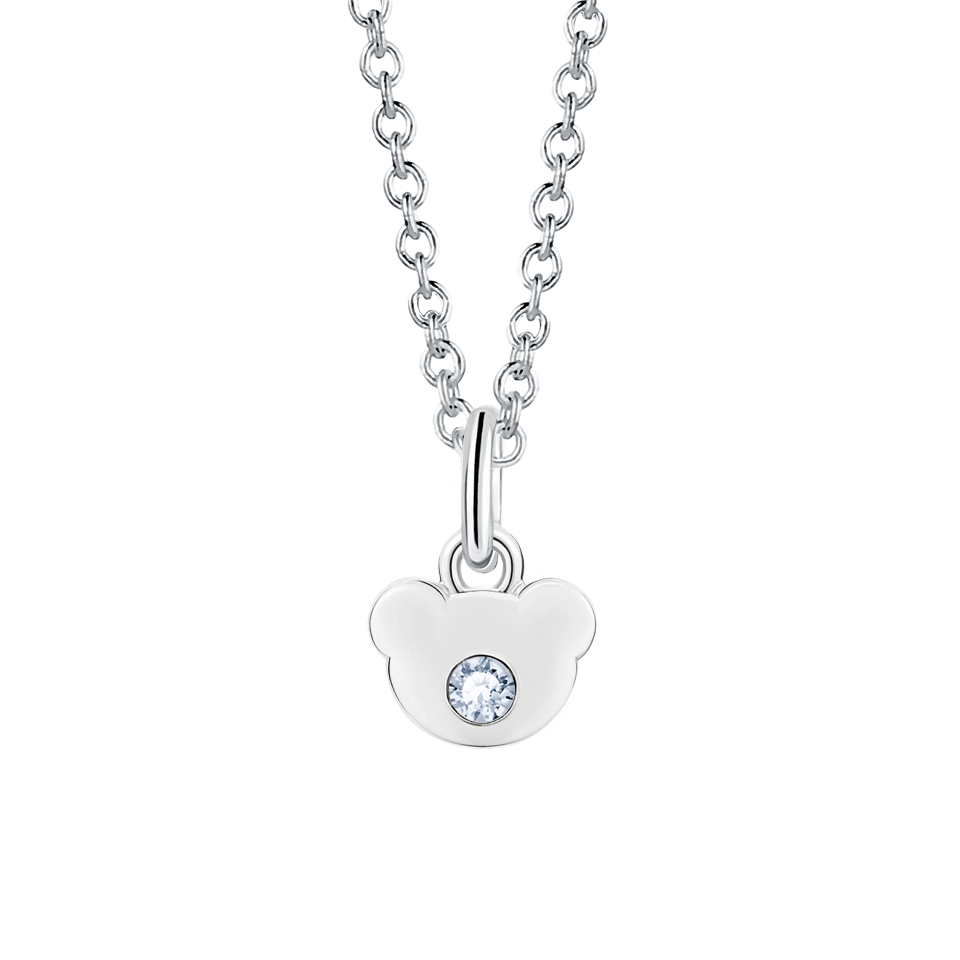 silver cpay pearl pearls pendant double swarovski birthstone june white products