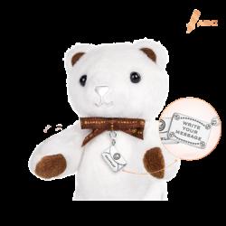 Mini Classic Beawelry Bear & Silver Envelope Charm